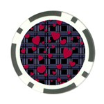 Decorative love Poker Chip Card Guards (10 pack)