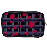 Decorative love Toiletries Bags 2-Side