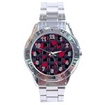 Decorative love Stainless Steel Analogue Watch
