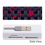 Decorative love Memory Card Reader (Stick)