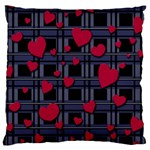 Decorative love Large Cushion Case (Two Sides)