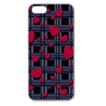 Decorative love Apple Seamless iPhone 5 Case (Clear)
