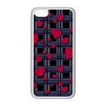 Decorative love Apple iPhone 5C Seamless Case (White)