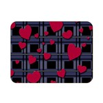 Decorative love Double Sided Flano Blanket (Mini)
