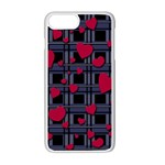 Decorative love Apple iPhone 7 Plus White Seamless Case