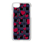 Decorative love Apple iPhone 7 Seamless Case (White)
