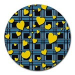 Love design Round Mousepads
