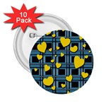 Love design 2.25  Buttons (10 pack)