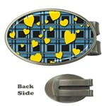 Love design Money Clips (Oval)