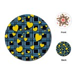 Love design Playing Cards (Round)