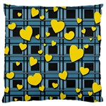 Love design Large Cushion Case (One Side)