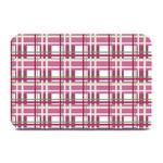 Pink plaid pattern Plate Mats