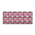 Pink plaid pattern Cosmetic Storage Cases