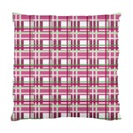 Pink plaid pattern Standard Cushion Case (One Side)