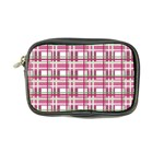 Pink plaid pattern Coin Purse