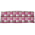 Pink plaid pattern Body Pillow Case Dakimakura (Two Sides)