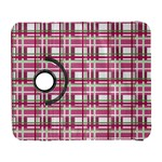 Pink plaid pattern Galaxy S3 (Flip/Folio)