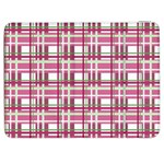 Pink plaid pattern Samsung Galaxy Tab 7  P1000 Flip Case