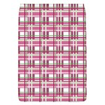 Pink plaid pattern Flap Covers (L)