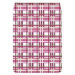 Pink plaid pattern Flap Covers (S)
