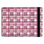 Pink plaid pattern Samsung Galaxy Tab Pro 12.2  Flip Case