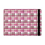 Pink plaid pattern iPad Mini 2 Flip Cases