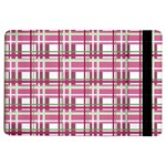 Pink plaid pattern iPad Air Flip