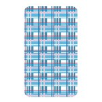 Blue plaid pattern Memory Card Reader
