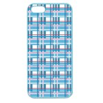Blue plaid pattern Apple Seamless iPhone 5 Case (Color)
