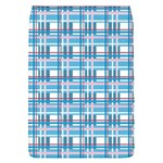 Blue plaid pattern Flap Covers (S)