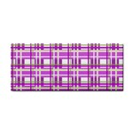Purple plaid pattern Cosmetic Storage Cases