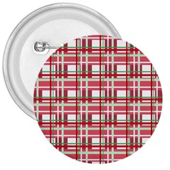 Red plaid pattern 3  Buttons from ArtsNow.com Front