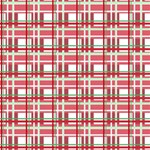 Red plaid pattern Magic Photo Cubes from ArtsNow.com Side 3
