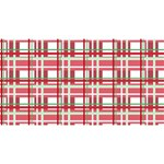 Red plaid pattern Magic Photo Cubes from ArtsNow.com Long Side 3