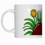 Boot in the grass White Mugs