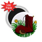 Boot in the grass 2.25  Magnets (100 pack)