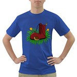 Boot in the grass Dark T-Shirt
