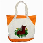 Boot in the grass Accent Tote Bag