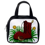 Boot in the grass Classic Handbags (One Side)