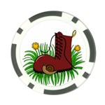 Boot in the grass Poker Chip Card Guards (10 pack)