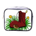 Boot in the grass Mini Toiletries Bags