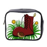 Boot in the grass Mini Toiletries Bag 2-Side