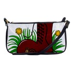 Boot in the grass Shoulder Clutch Bags