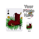 Boot in the grass Playing Cards 54 (Mini)