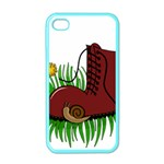Boot in the grass Apple iPhone 4 Case (Color)