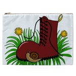 Boot in the grass Cosmetic Bag (XXL)