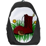 Boot in the grass Backpack Bag