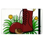Boot in the grass Apple iPad 2 Flip Case