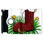 Boot in the grass Apple iPad 2 Flip 360 Case