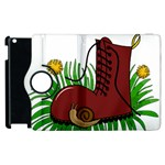 Boot in the grass Apple iPad 3/4 Flip 360 Case